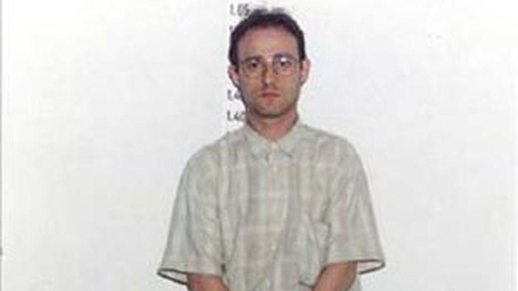 Imagen de la policía de Martínez Singul cuando fue detenido en 1991.