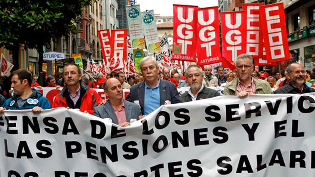 Protestas en toda España