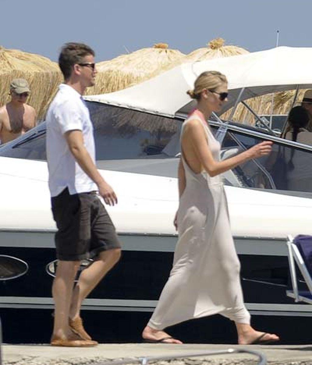 Josh Harnett y Sophia en Italia