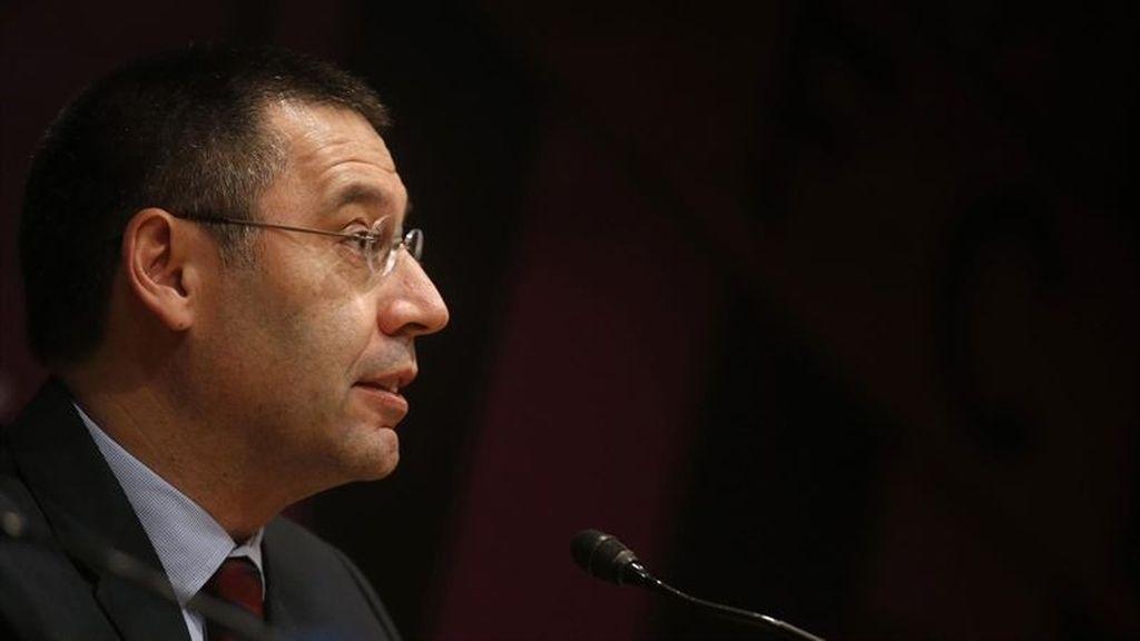 El nuevo presidente del FC Barcelona, Josep Maria Bartomeu