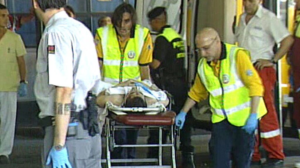Constante afluencia de ambulancias