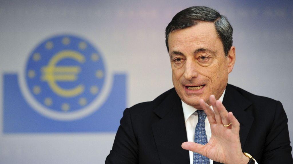 Mario Draghi valora la bajada de del euribor