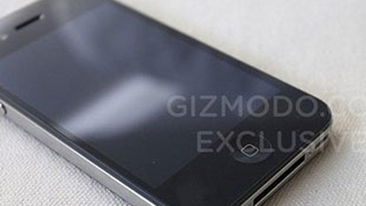 Imagen del supuesto prototipo del iPhone 4G. Foto: Gizmodo.