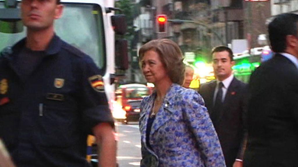 La reina, en la calle Atocha