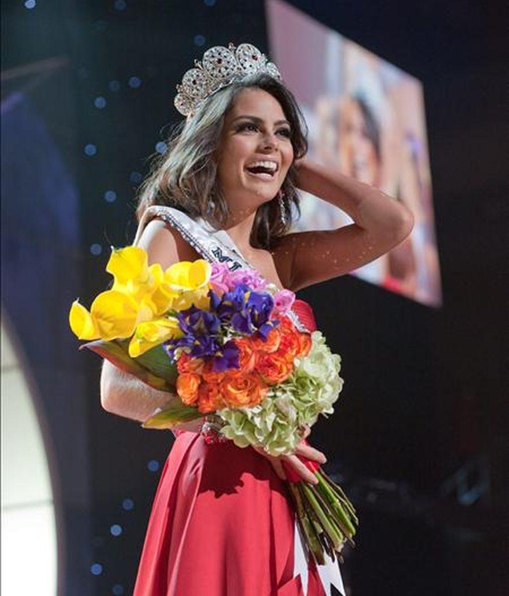 La candidata de México, Jimena Navarrete, es coronada Miss Universo 2010. Video: Informativos Telecinco