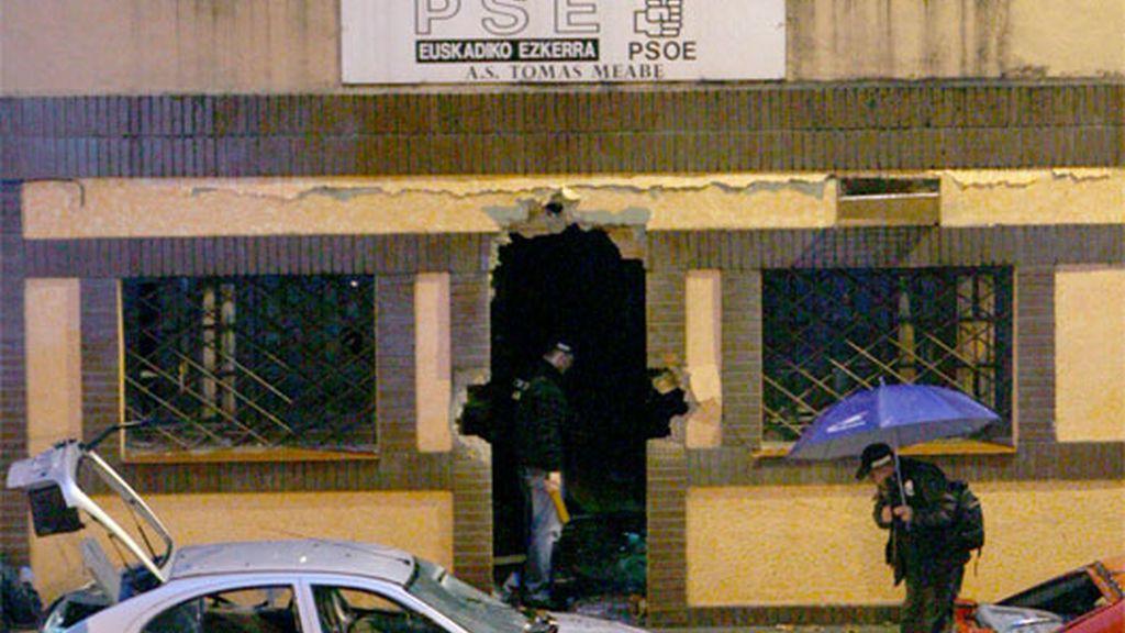 Atentado de ETA en Bilbao
