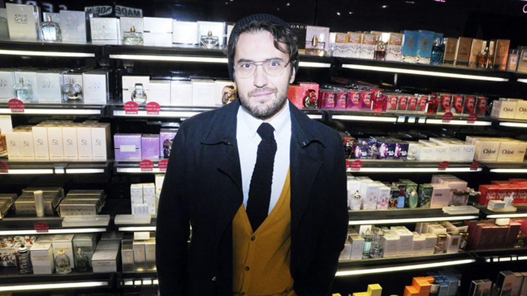 Máxim Huerta no dudó en acudir a la fiesta del 15 aniversario de Sephora