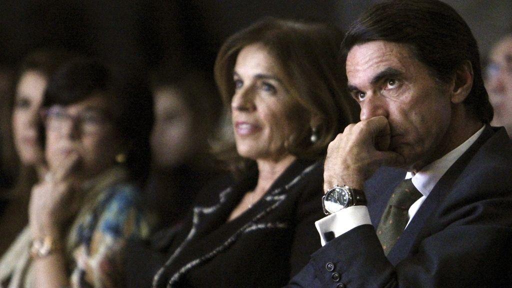 Aznar llama al PP a recuperar la confianza en un acto en recuerdo a Gregorio Ordóñez