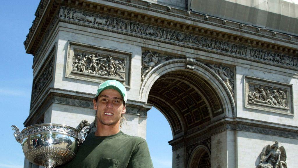 Gastón Gaudio, campeón de Roland-Garros en 2004