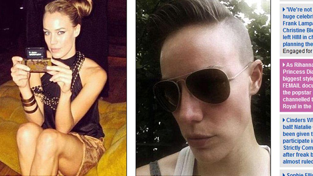 Elliott Sailors se ha masculinizado para prolongar su vida como modelo profesional