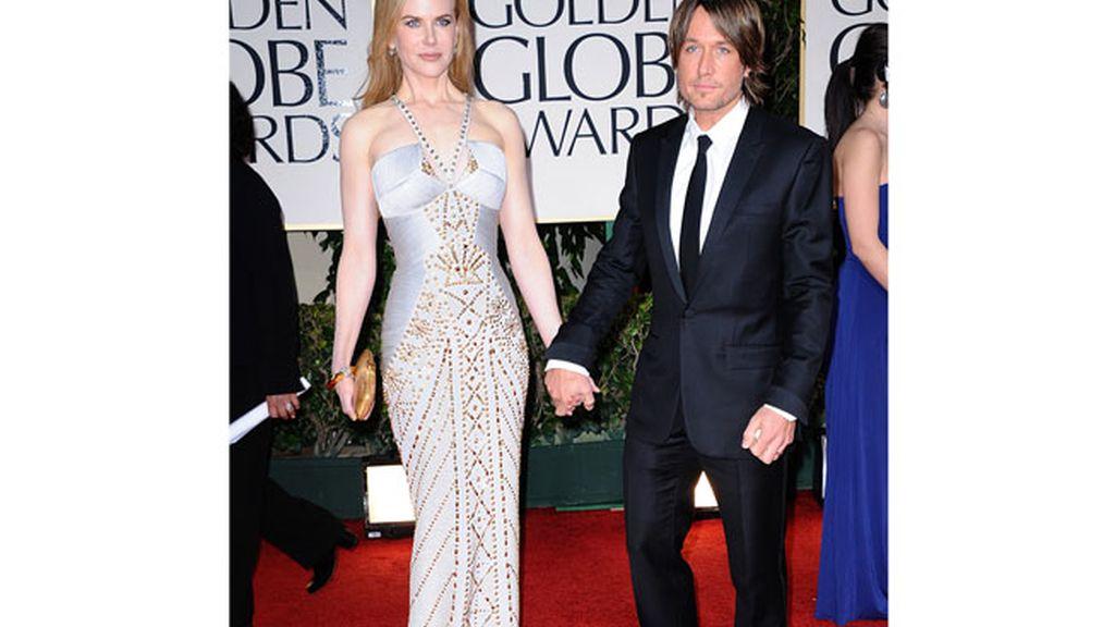 Glamour en los Globos de Oro