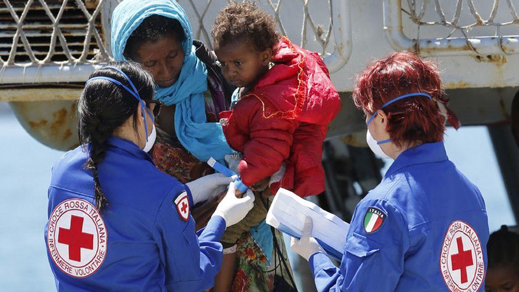 Nuevo desembarco de inmigrantes en Sicilia
