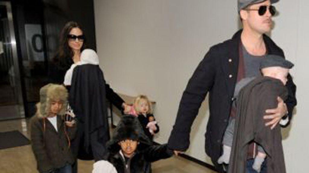 Knox Leon Jolie, hijo de Brad Pitt y Angelina Jolie