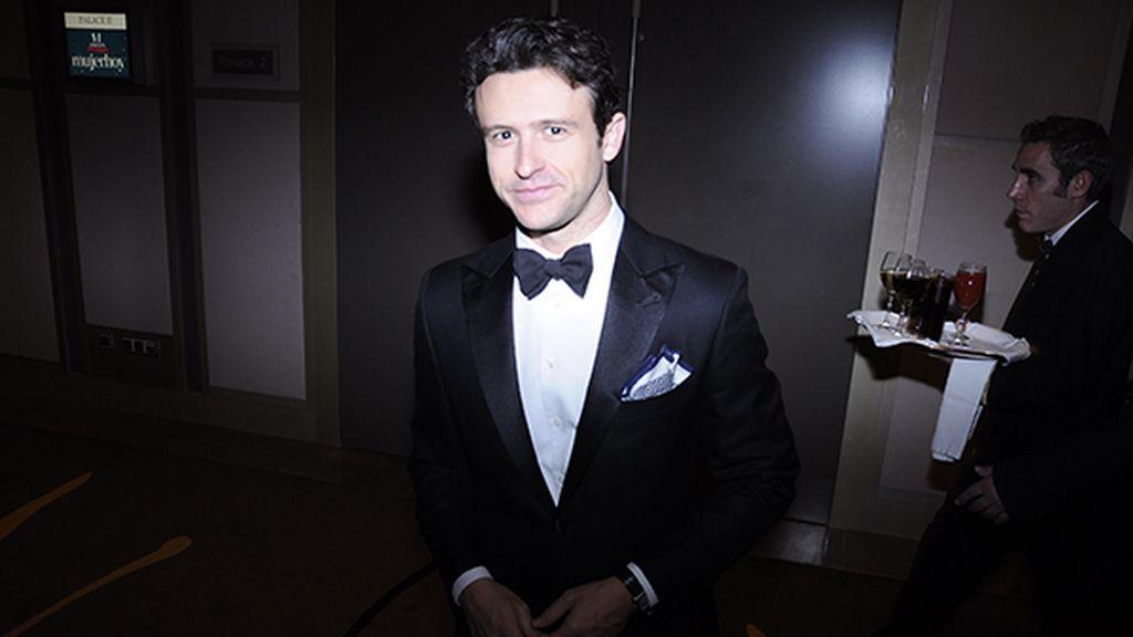 El actor Diego Martín fue otro de los invitados a esta fiesta en el Palace