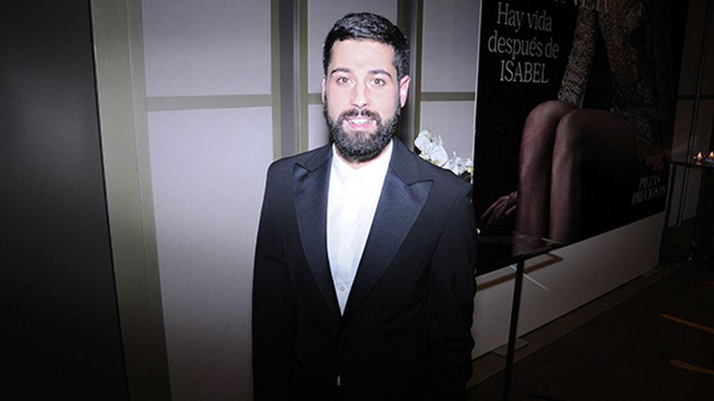 Moisés Nieto a su llegada a los premios Mujer Hoy que se celebraron en el Hotel Palace