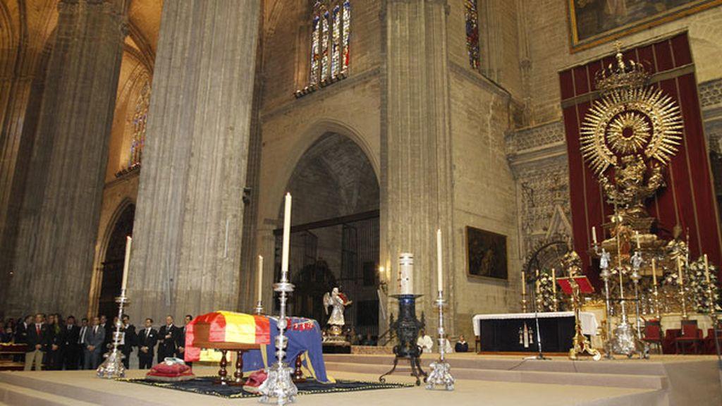 Hasta 4500 asistentes al último adiós en el Altar Jubileo