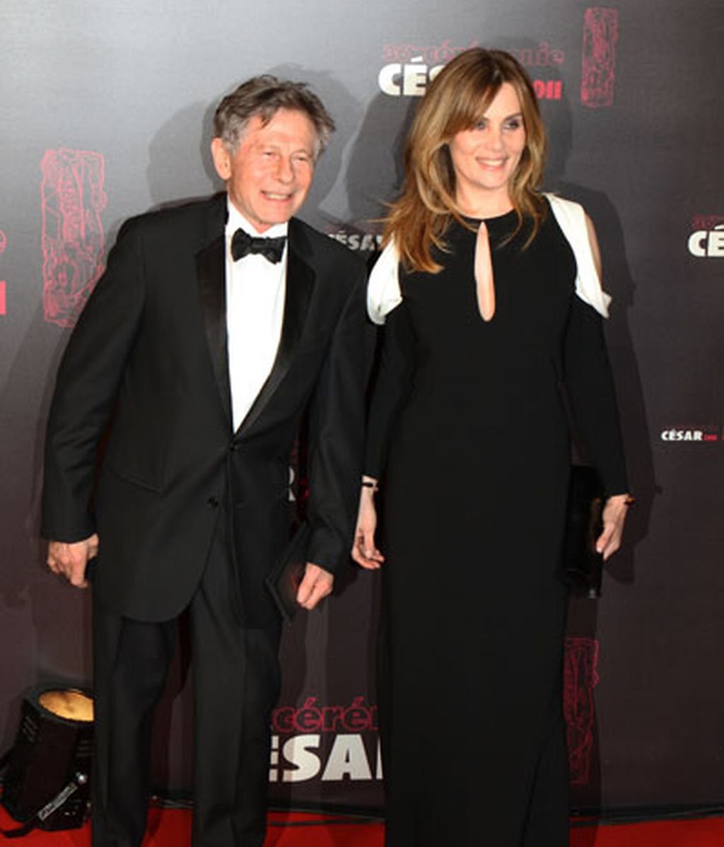 Roman Polanski y Emmanuelle Seigner