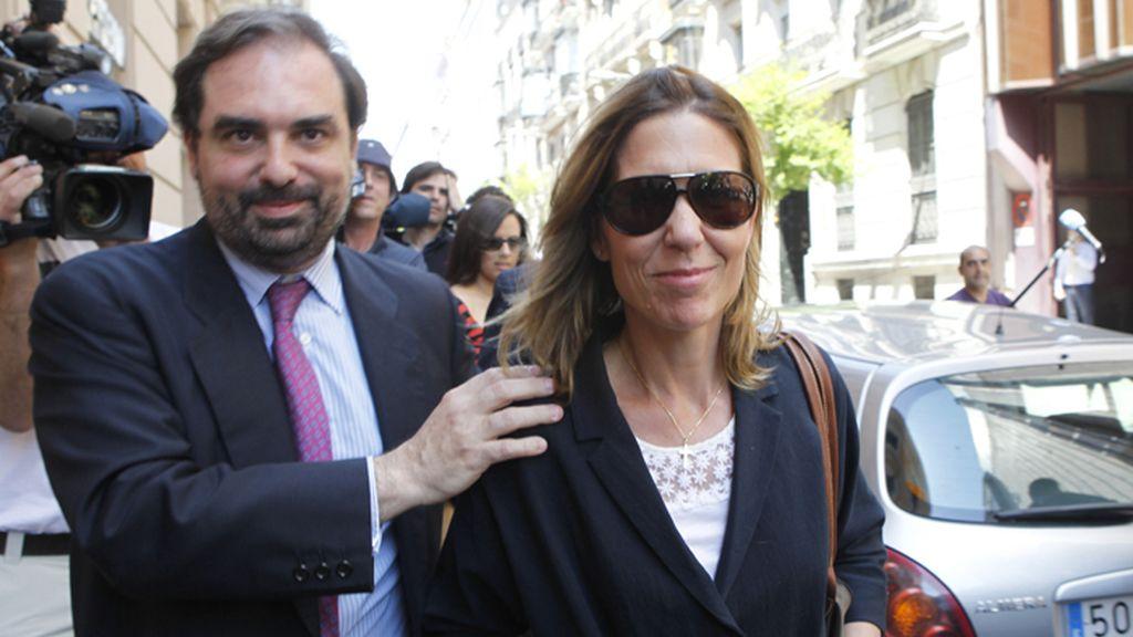Declara ante el juez Andreu una sobrina del rey por el caso Emperador