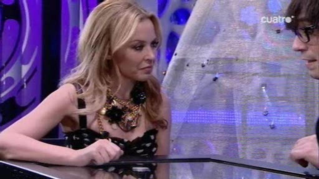 Kylie Minogue alucina con la magia del Hormiguero