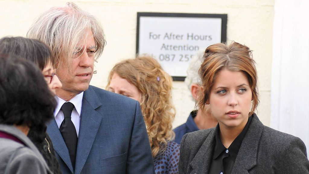 Bob Geldof y su hija Peaches Geldof