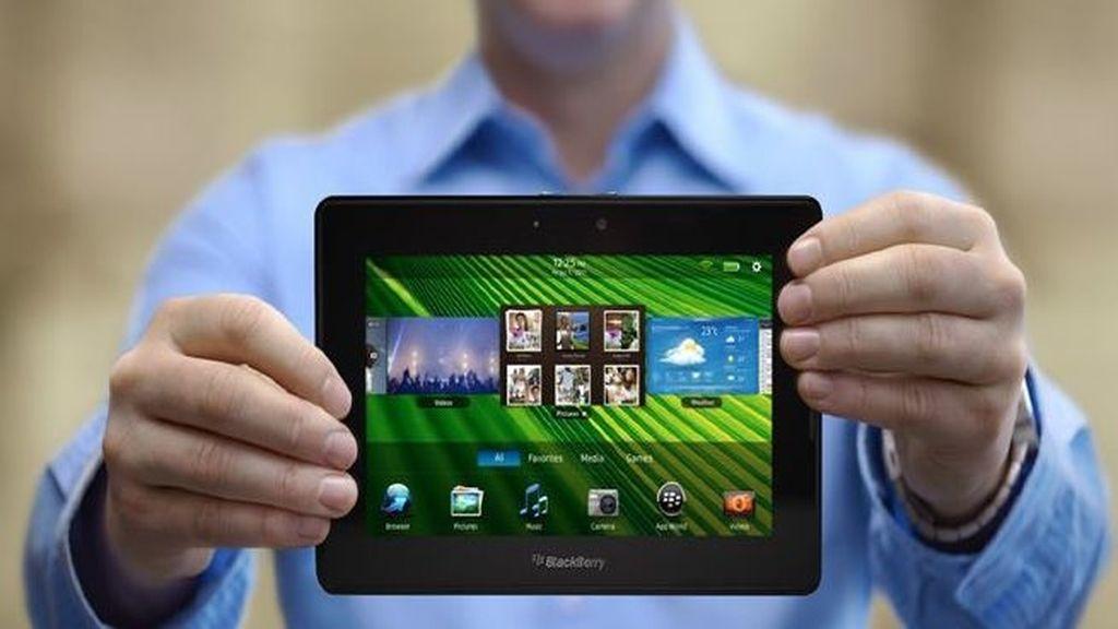 La PlayBook de Blackberry llega a las tiendas en España el próximo lunes 13 de junio. Foto RIM