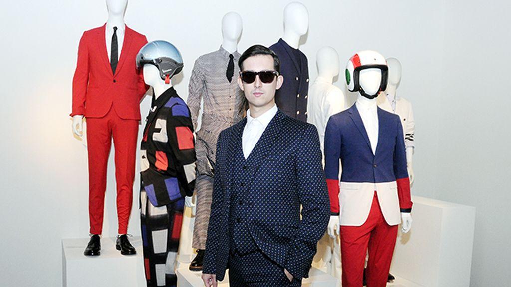 Mimetizado con los genios de la moda