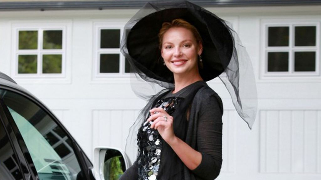 Katherine Heigl, la bruja mala del Oeste (de Beverly Hills)