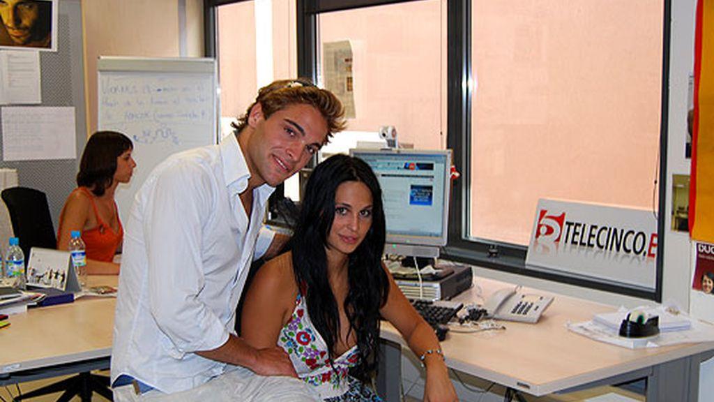 Marisa y Pedro en telecinco.es