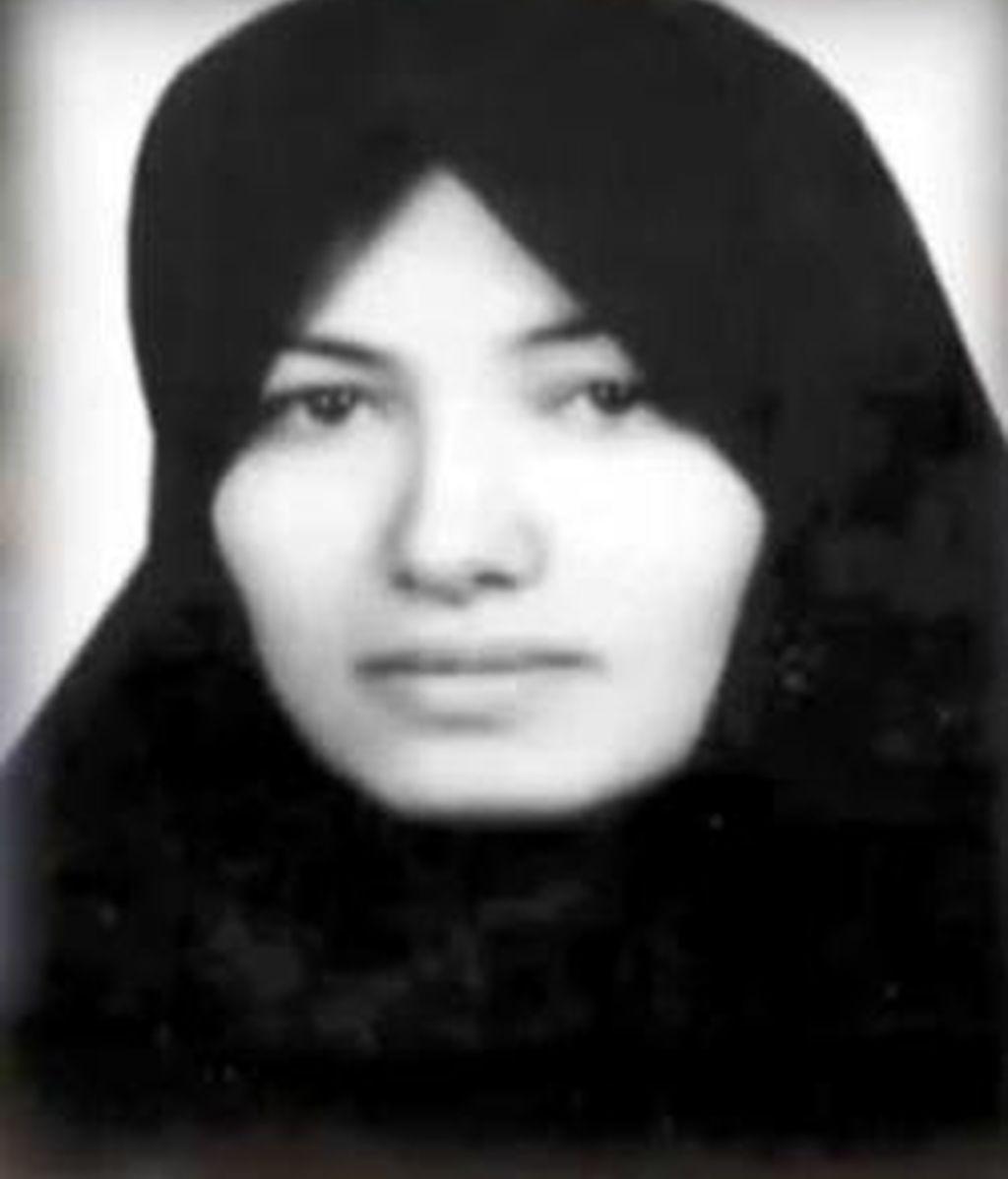 Suspendida la condena a la viuda iraní
