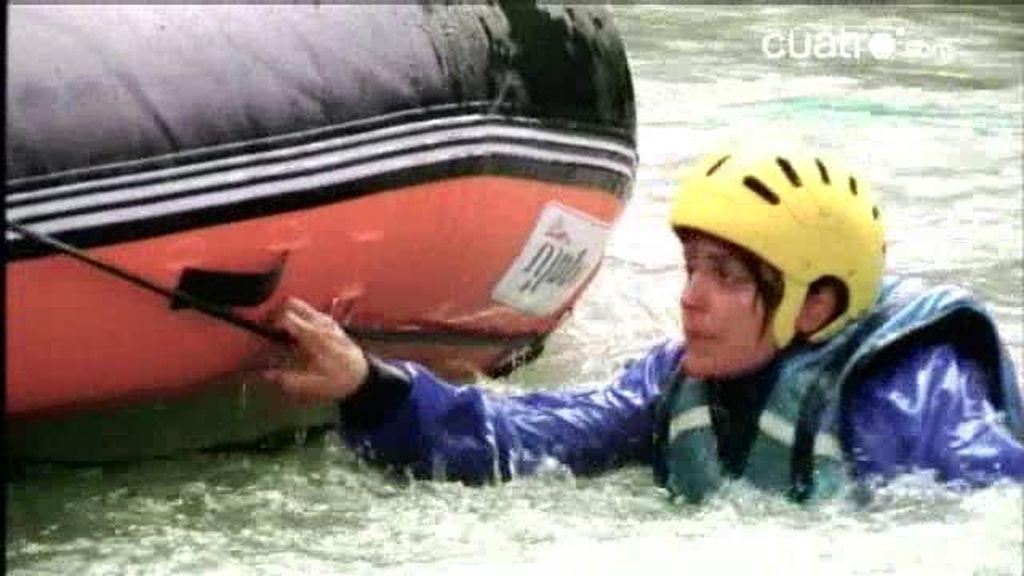 Avance. Atrapados haciendo rafting