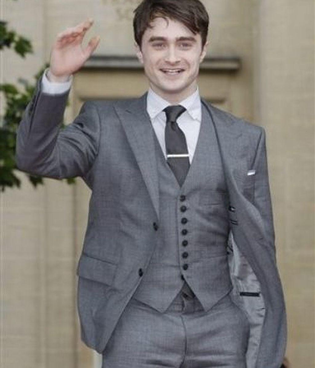 Daniel Radcliffe llega a la première