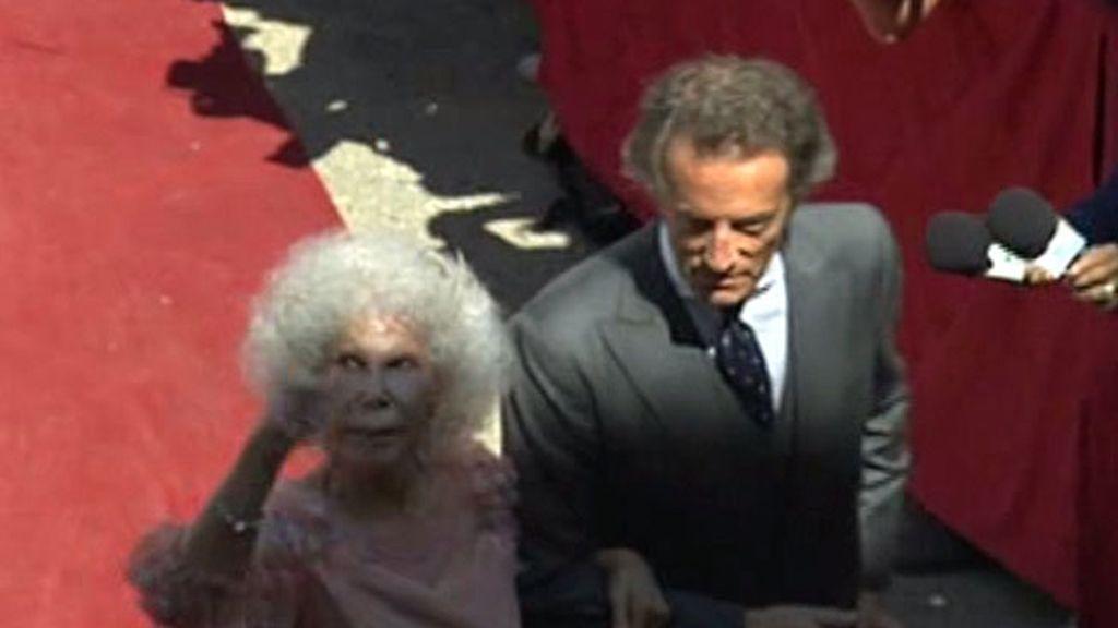 La Duquesa de Alba y Alfonso Díez, marido y mujer