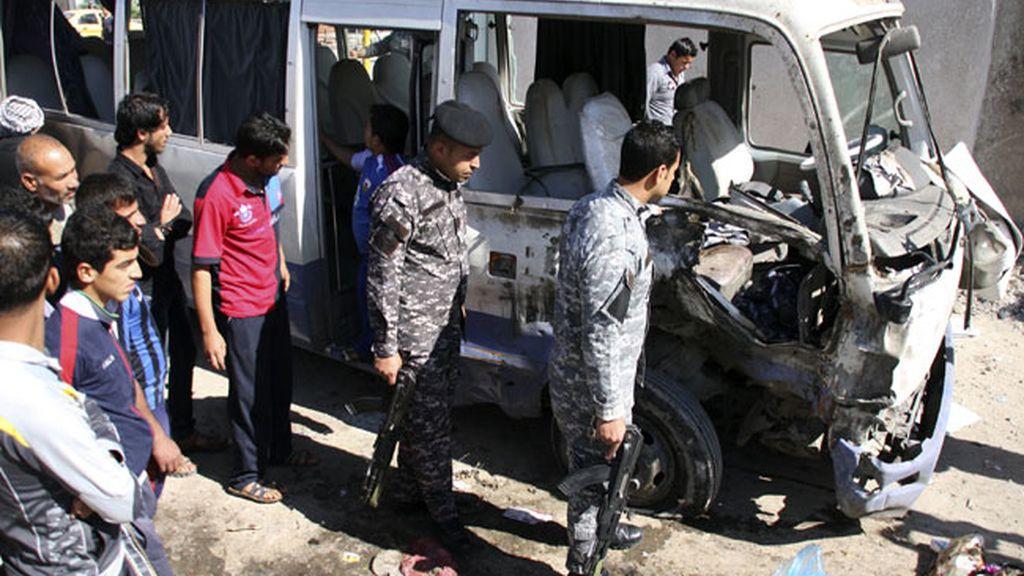 Oleada de atentados en Irak provoca 50 muertos