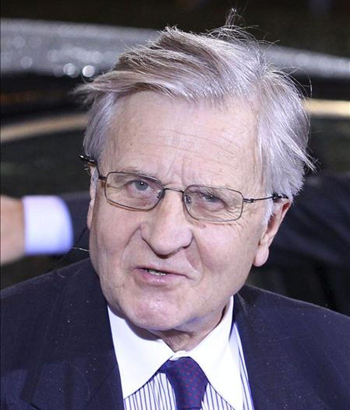 El máximo responsable del BCE, Jean-Claude Trichet. EFE/Archivo