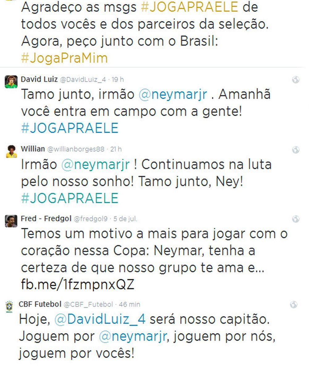 tweets brasileños