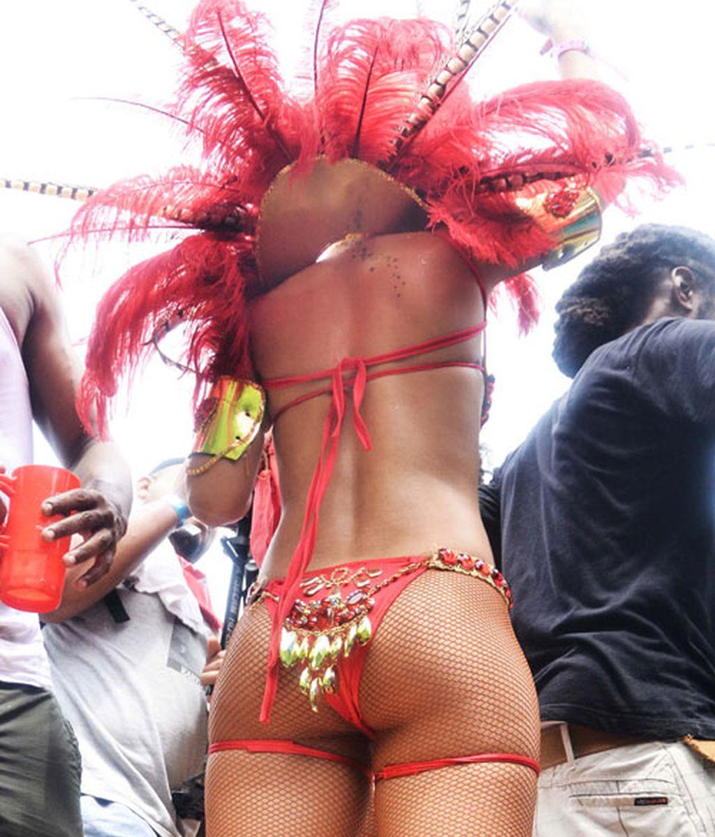 El desenfreno de Rihanna, en imágenes
