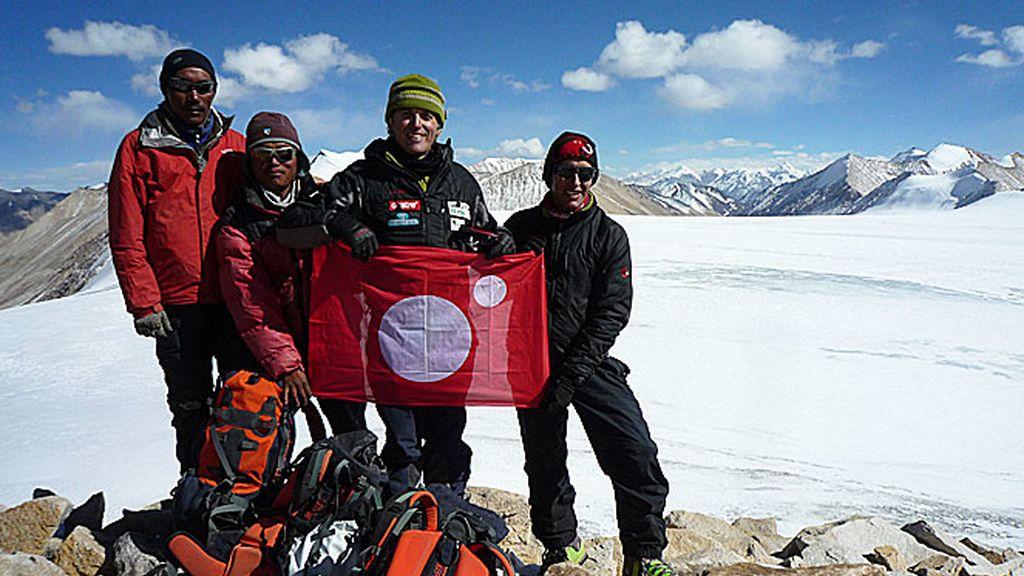 Himalaya, 2009: Calleja bautiza el 'Pico Cuatro'