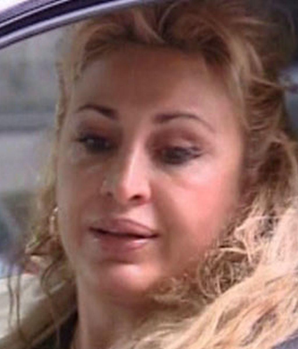 Raquel Mosquera, de nuevo ingresada
