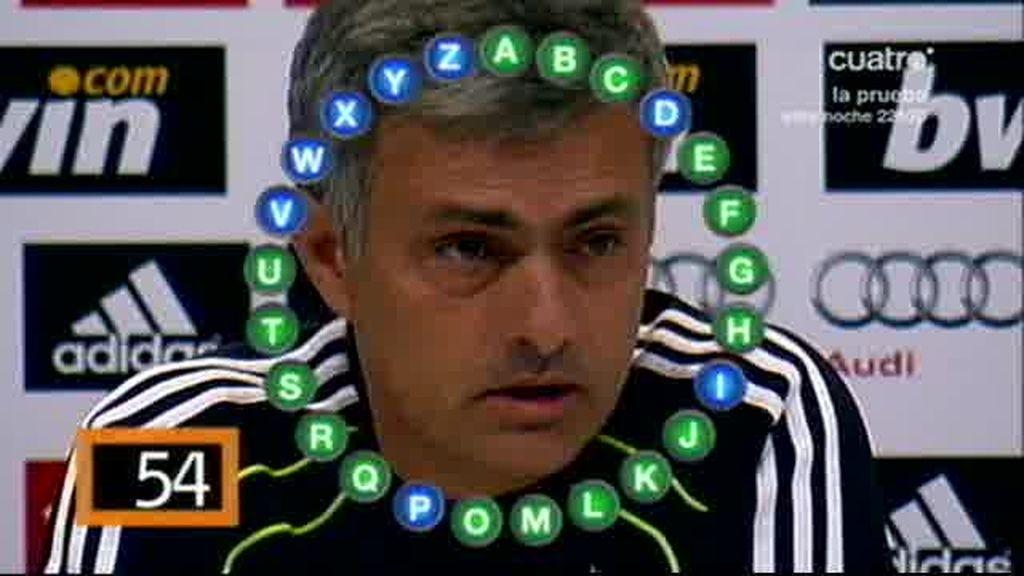 Mourinho, en Pasapalabra