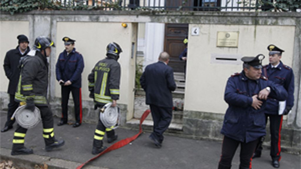 Desactivan un paquete bomba en la Embajada de Grecia en Roma