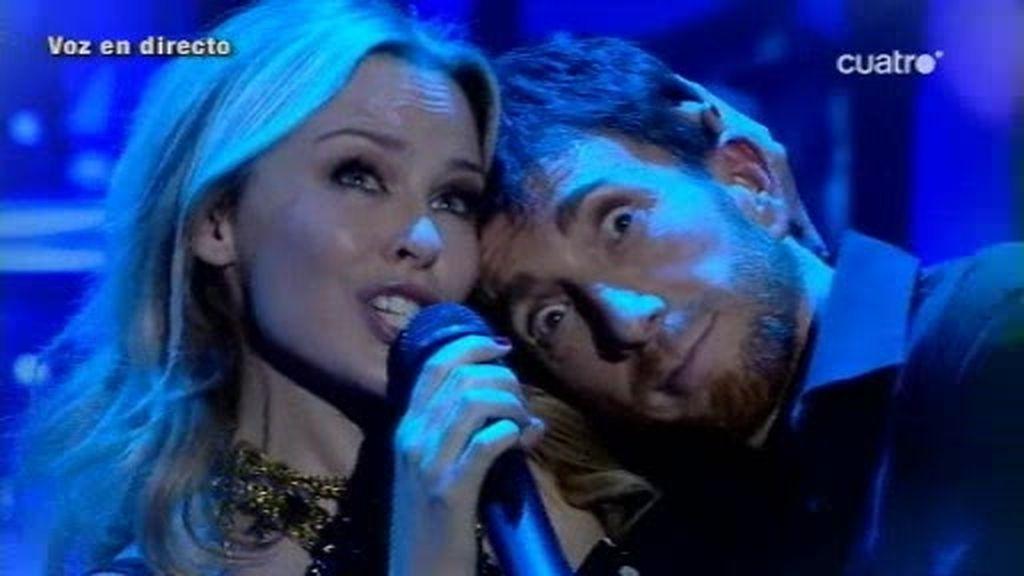 Kylie Minogue inaugura la Navidad en El Hormiguero