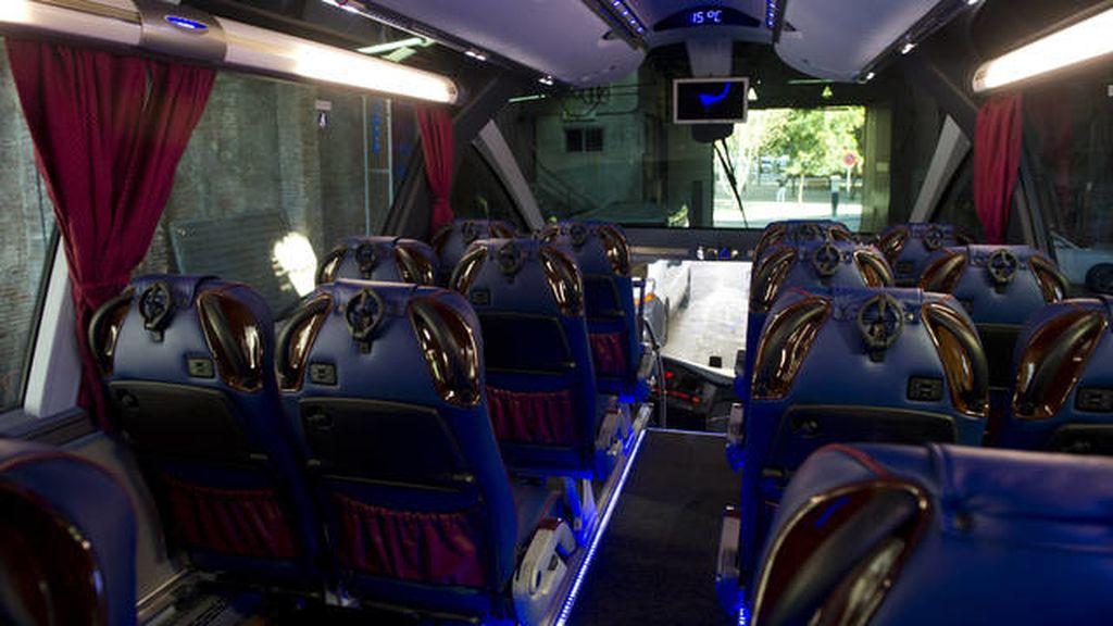 El nuevo autocar del Barça
