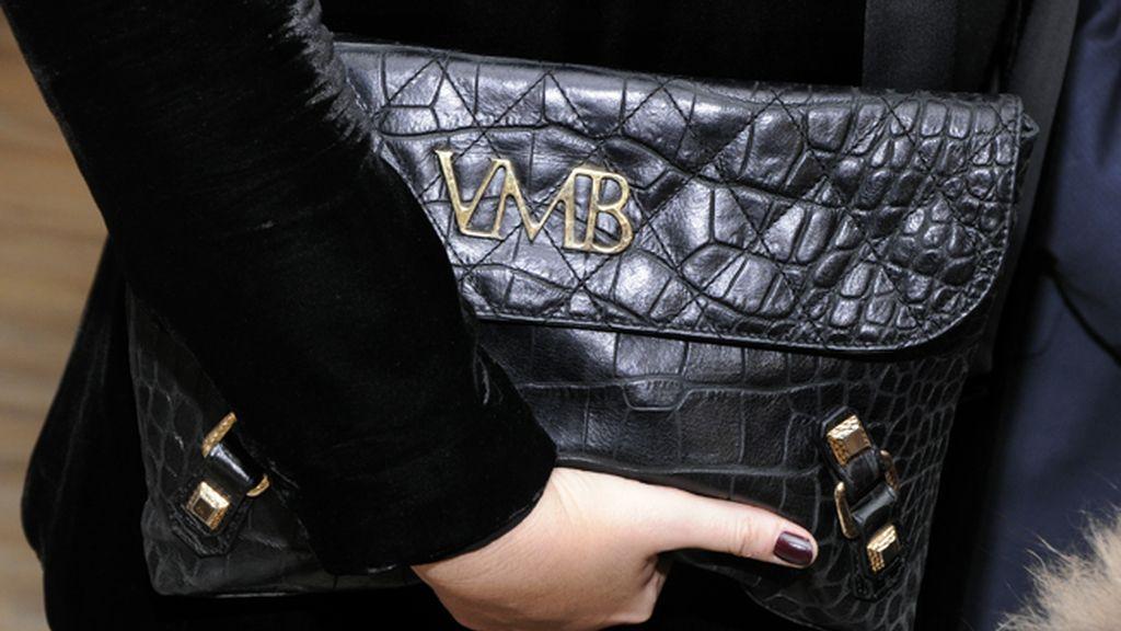 Vicky Martín Berrocal lució uno de los bolsos de su firma