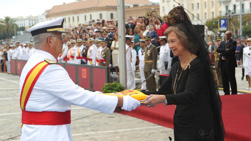"""Bandera de combate para el BPE """"Juan Carlos I"""""""