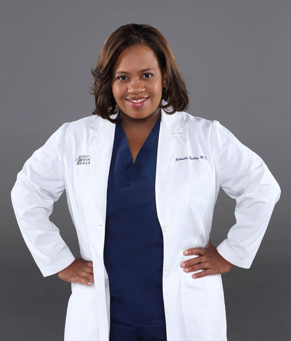 Chandra Wilson es la Doctora Bailey, conocida como 'la nazi' por su carácter duro