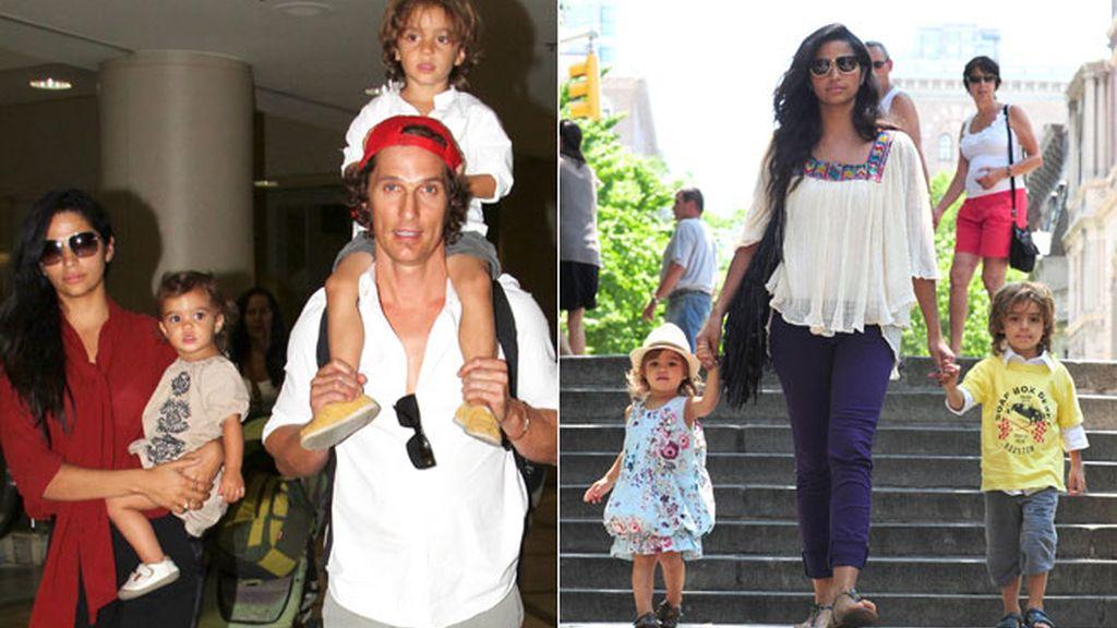 Levi y Vida, los hijos de Matthew McConaughey y Camila Alves