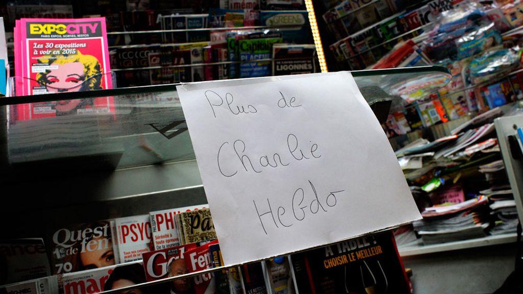Agotado el primero número de Charlie Hebdo tras la masacre
