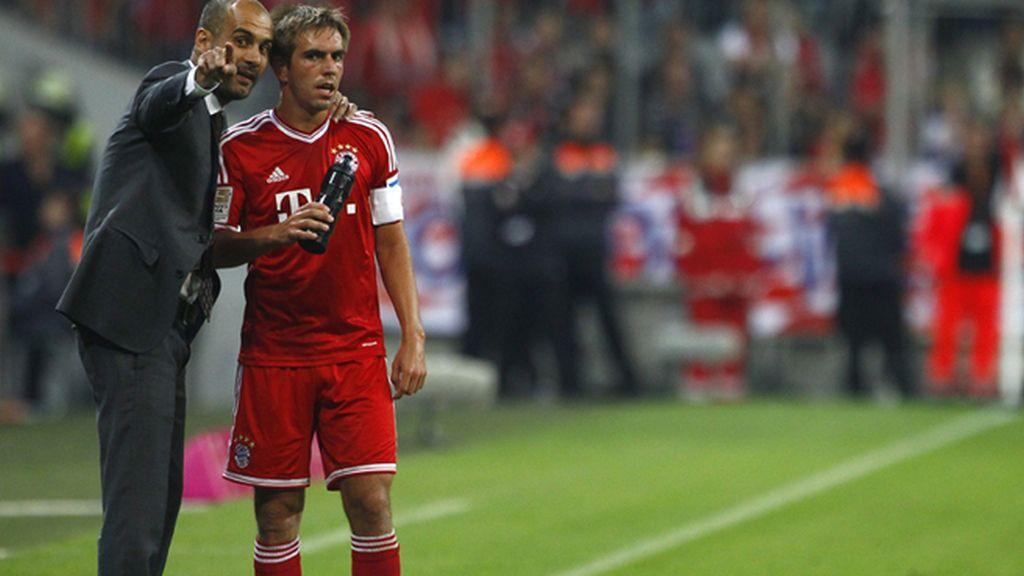 El Bayern de Pep estrena la Bundesliga con victoria (3-1) ante el Moenchengladbach