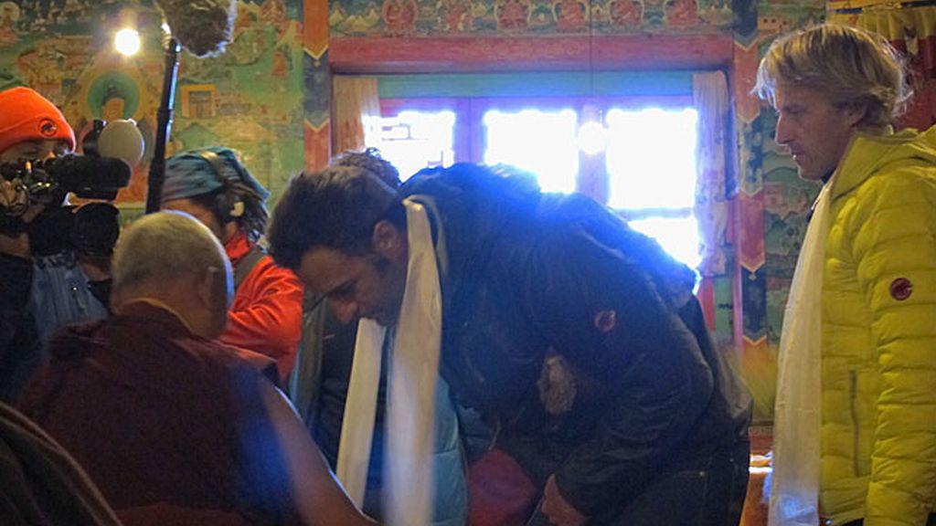 Puja monacal en Tengboche