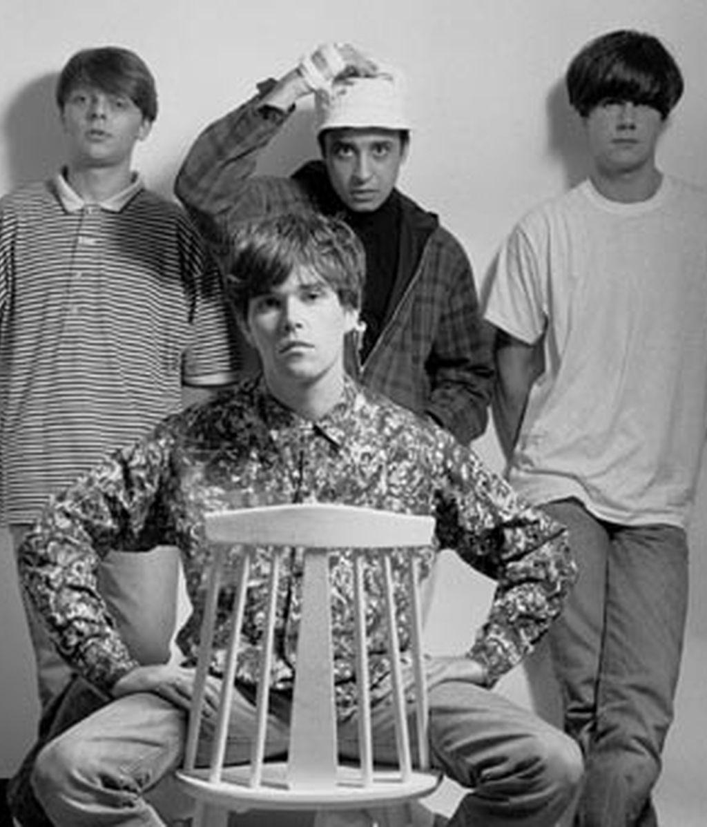 Foto de archivo del grupo británico Stone Roses